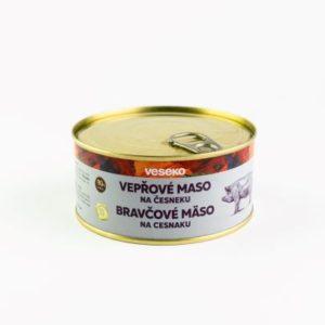 Vepřové maso na česneku